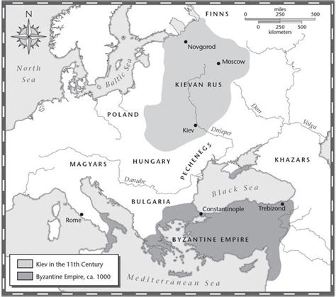 The Byzantine Empire Russia And Eastern Europe Outline Map by Htonworldhistoryi 2nd 9 Weeks Unit 3