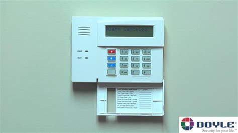honeywell security keypad 6280