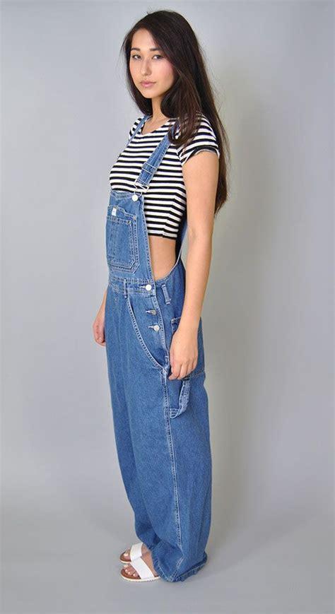Vintage Denim Overalls 90s Calvin Klein Bib Overalls Denim