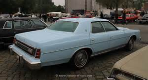 ford usa 1976 ltd 4door sedan the history of cars
