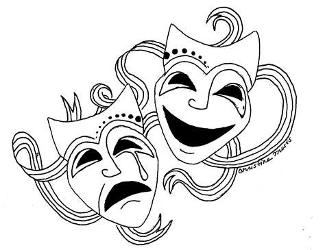 black and white drama drama masks free download clip art free clip art on