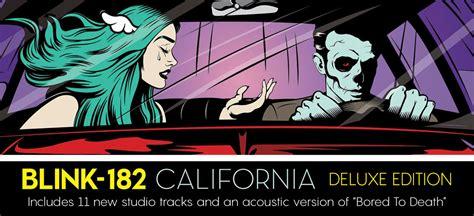 blink 182 vinyl lp blink 182 quot california quot deluxe vinyl vinyl collective