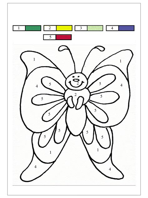 color by number butterfly coloring pages butterfly color by number coloring home