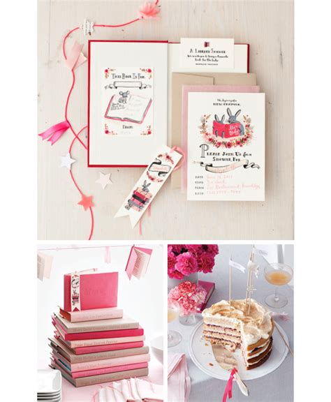 Martha Stewart Baby Shower Invitations by Rifle Paper Co Rifle Book Themed Invitations For
