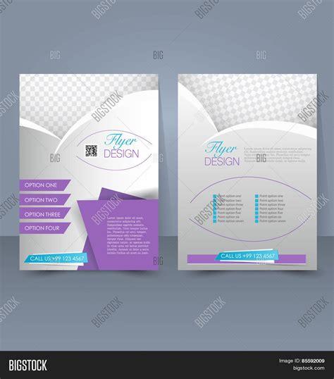 editable templates for brochures template brochure flyer editable vector photo bigstock