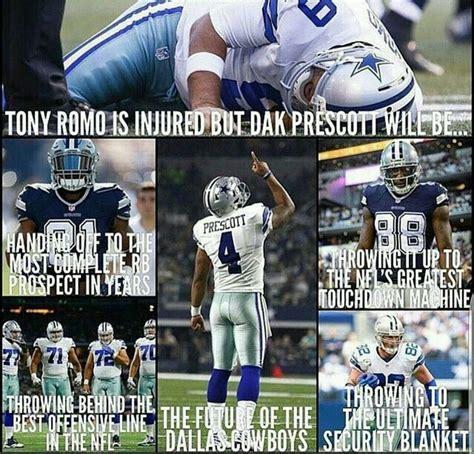 Tony Romo Injury Meme - 340 best dallas cowboys images on pinterest dallas cowboys football season and nfl football
