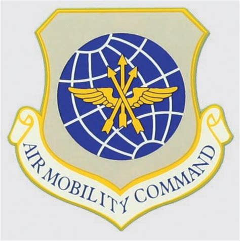 air force mobility command air force air mobility command shield decal north bay