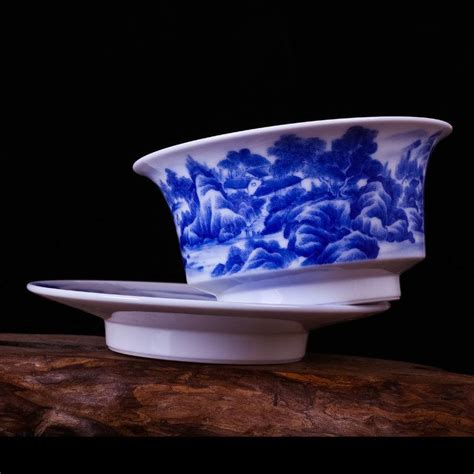 Handcrafted Tea - handcrafted tea cup and saucer lid tea gaiwan cup