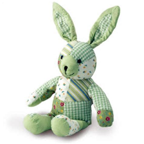 Patchwork Rabbit Pattern - patchwork bunny growing your baby