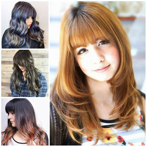 hair style for hair with bangs hairstyles with bangs hairstyles 2017 new haircuts and