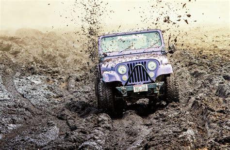 muddy jeep 79 purple jeep cj fun in the mud jeepfan com