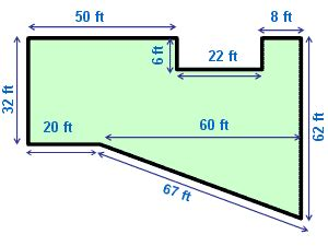 house perimeter find the perimeter of the house shown in the picture