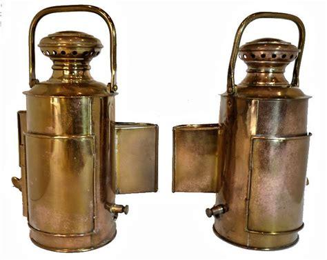 antique perko navigation lights antique perko polished brass large navy navigation lights
