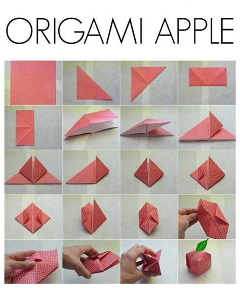 Origami Apple - 152 best images about origami on