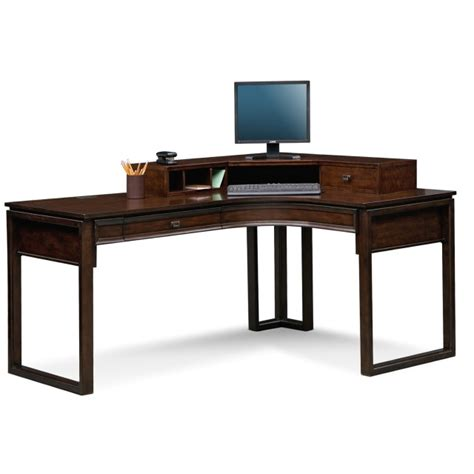 office desk l shaped with hutch l shaped desk with hutch home office home design ideas