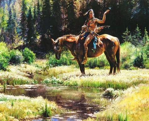 imagenes de paisajes indios cuadros pinturas oleos pinturas de indios y caballos
