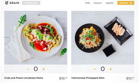 room service singapore food delivery grain offers 15 minute healthy food delivery service in singapore