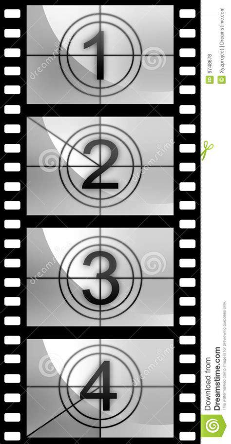 Film Strip Countdown Texture Royalty Free Stock Photos Filmstrip Countdown