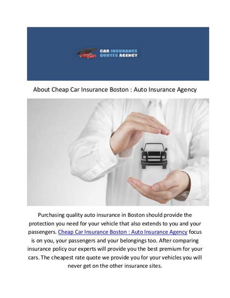 Call @ (617) 652 5090 : Car Insurance In Boston MA
