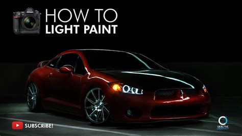 how to light paint how to light paint a car photography tutorial