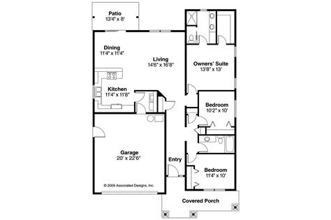 3 bedroom bungalow house plan with garage house design