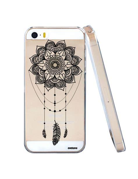 coque rigide transparent tattoo pour iphone se 5s 5