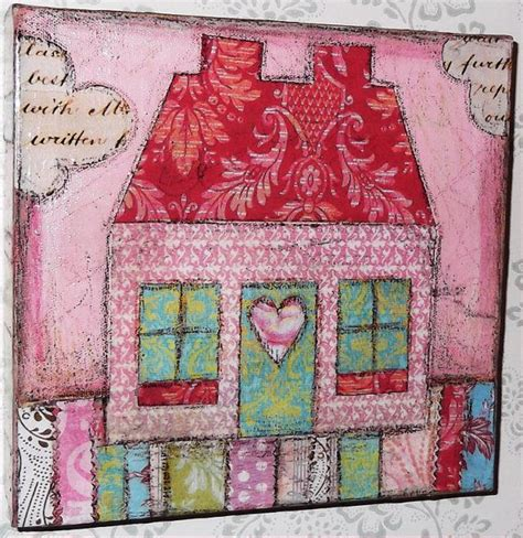 Decoupage Fabric On Canvas - 17 best ideas about decoupage canvas on fabric