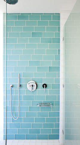 coastal bathroom with aqua blue subway tile agk design aqua glass subway tile so pretty and soothing beach