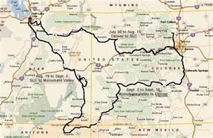 colorado city utah map where list