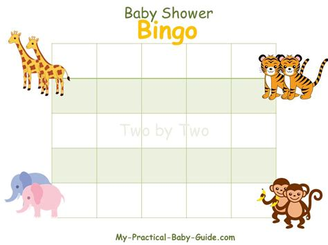 baby shower gift bingo my practical baby shower guide