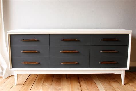 mid century dresser painted painted mid century modern dresser credenza