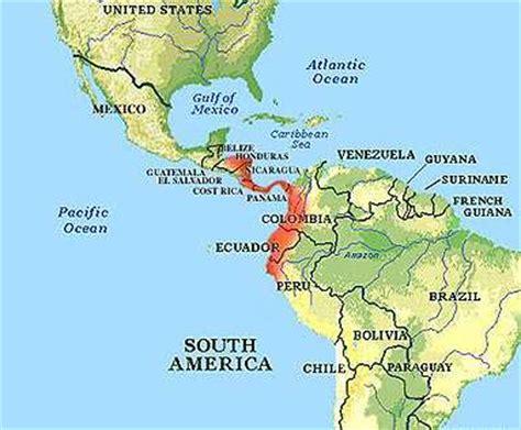 america map gulf of st gulf of guayaquil