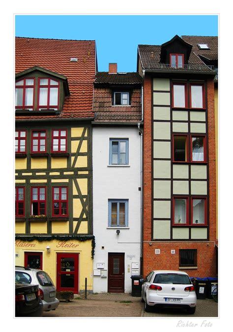 Schmalste Haus Deutschlands by Schmalstes Haus Erfurt Foto Bild Architektur