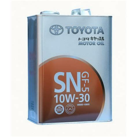 Toyota 10w30 Motor масло в двигателе Toyota 10w30 Toyota Motor 10w30 Sn