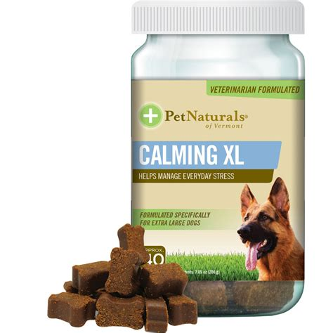 calming chews for dogs pet naturals calming for xlarge dogs 30 chews healthypets