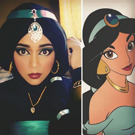 Princess Hijabb this uses to transform herself into disney
