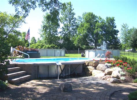 where to put a pool in your backyard put above ground pool inground pool design ideas