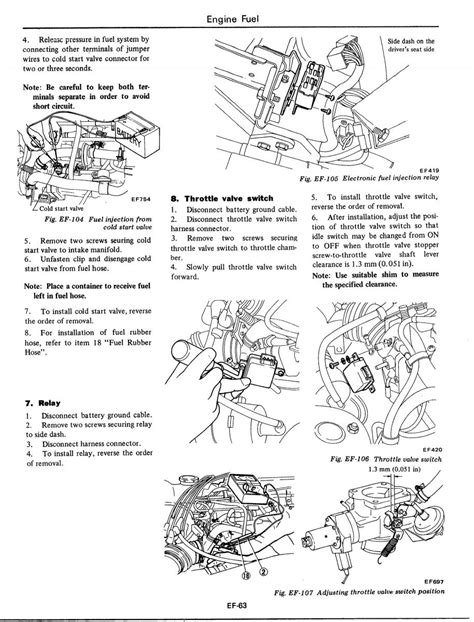 1977 datsun 280z fuel injection wiring diagram wiring