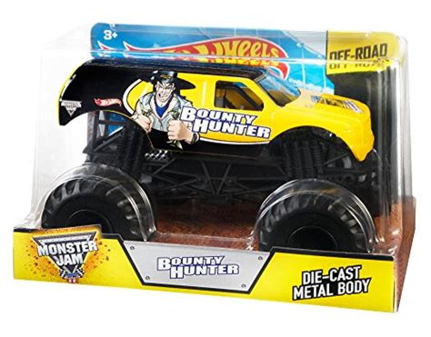 monster jam 1 24 scale wheels monster jam 1 24 scale bounty hunter vehicle