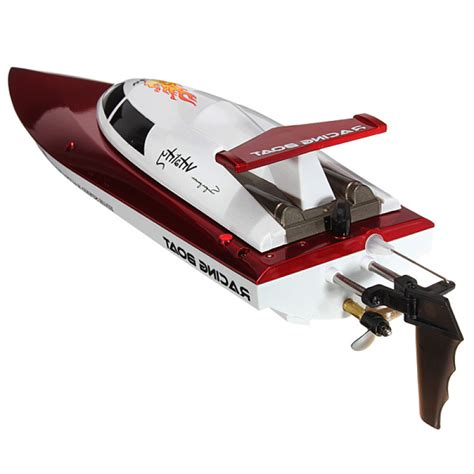 high speed rc racing boat buy ft007 4ch 2 4g high speed racing remote control rc