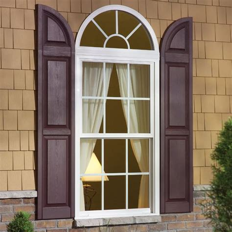 Different Windows Designs These Window Shutter Accessories Are Call Transom Arch Tops Installed Above A Raised Panel