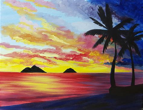paint nite stl st louis bar and grill dundas square 10 28 2017 paint