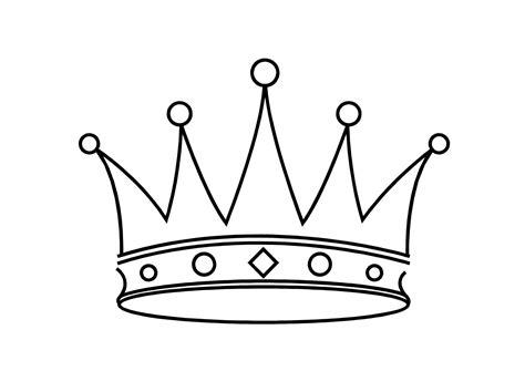 coronas para imprimir dibujos de coronas dibujos
