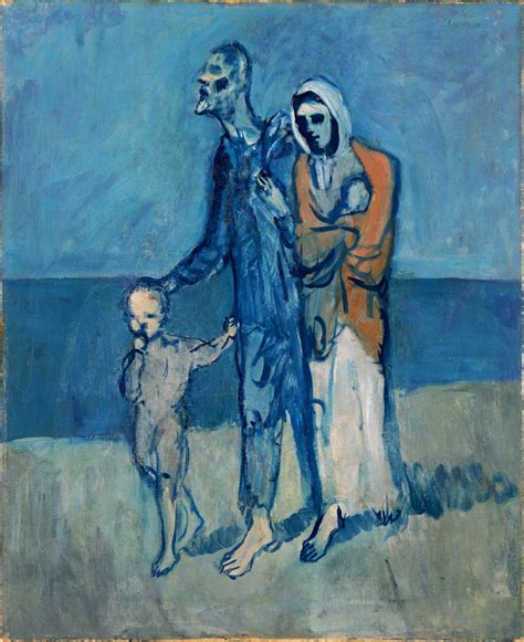 picasso paintings era pablo picasso quot figures by the sea quot 1903 pablo picasso