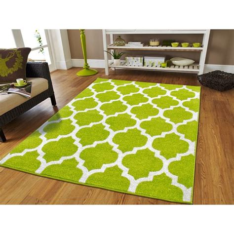 large modern green area rug for bedrooms green rugs on