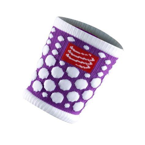 Compressport Sweat Band Fluo Purple Running 1 compressport fluo wrist sweat bands purple sportitude