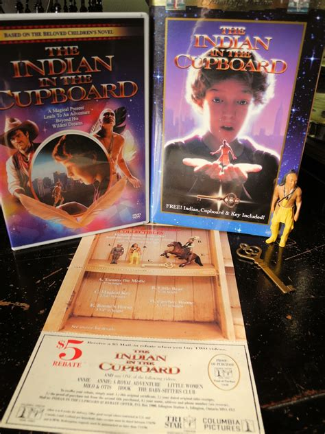 Indian The Cupboard - the indian in the cupboard collectable figure trinketeer