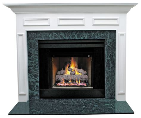 litchfield ii mdf primed white fireplace mantel surround