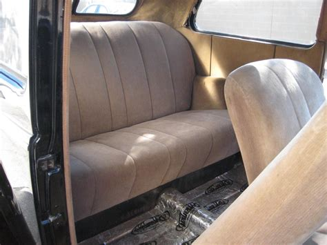 Repairing Car Upholstery by Auto Upholstery Repair Classic Car Restoration Shop Specializing In Handmade Interiors And