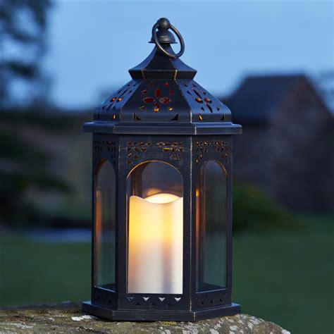 lantern l cuisine lanterne marocaine 195 led en plastique l x l x h